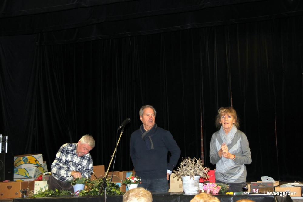 kerstbloemstukken,vegetatieve taarten,tuinbouwvereniging dilbeek